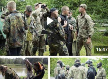 Звітні відеоролики із табору «Нащадки воїнів: Легіонер та Оріяна-2016»