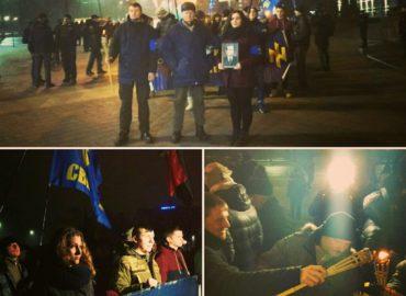 У Черкасах урочистим маршем відсвяткували день народження Бандери